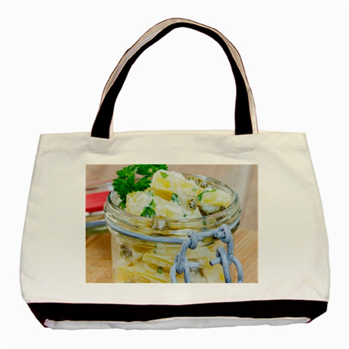 1 Kartoffelsalat Einmachglas 2 Basic Tote Bag (Two Sides)