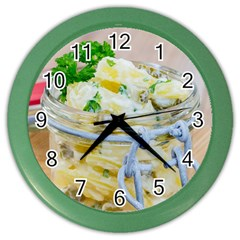 1 Kartoffelsalat Einmachglas 2 Color Wall Clocks