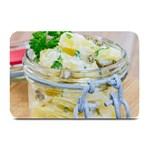 1 Kartoffelsalat Einmachglas 2 Plate Mats 18 x12 Plate Mat - 1