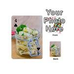 1 Kartoffelsalat Einmachglas 2 Playing Cards 54 (Mini)  Front - Spade4