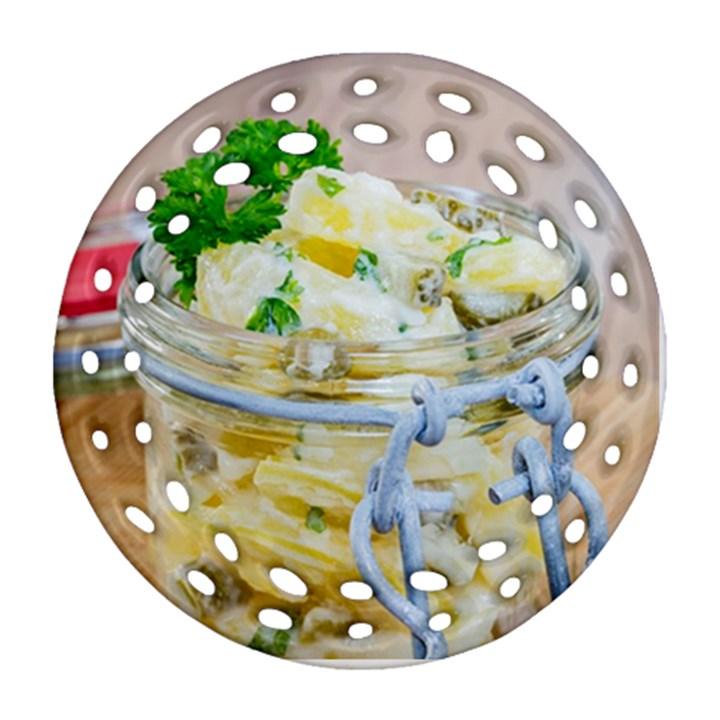 1 Kartoffelsalat Einmachglas 2 Ornament (Round Filigree)