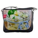 1 Kartoffelsalat Einmachglas 2 Messenger Bags Front