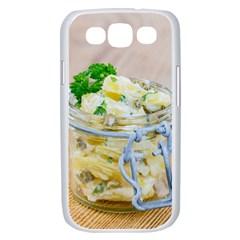 1 Kartoffelsalat Einmachglas 2 Samsung Galaxy S III Case (White)