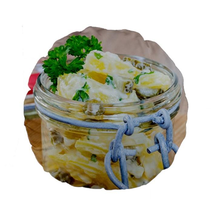 1 Kartoffelsalat Einmachglas 2 Standard 15  Premium Round Cushions