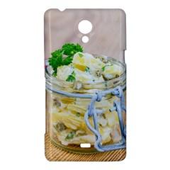 1 Kartoffelsalat Einmachglas 2 Sony Xperia T