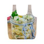1 Kartoffelsalat Einmachglas 2 Full Print Recycle Bags (M)  Back