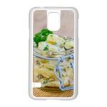 1 Kartoffelsalat Einmachglas 2 Samsung Galaxy S5 Case (White) Front