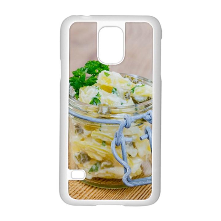 1 Kartoffelsalat Einmachglas 2 Samsung Galaxy S5 Case (White)