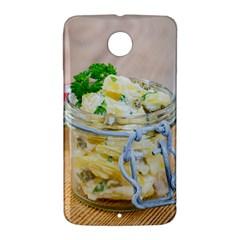 1 Kartoffelsalat Einmachglas 2 Nexus 6 Case (White)