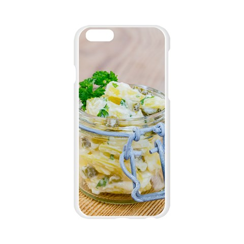 1 Kartoffelsalat Einmachglas 2 Apple Seamless iPhone 6/6S Case (Transparent)