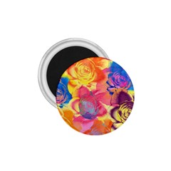 Pop Art Roses 1.75  Magnets