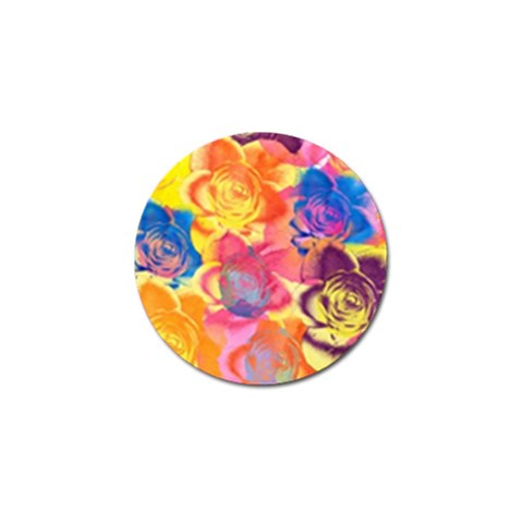 Pop Art Roses Golf Ball Marker (4 pack)