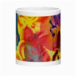 Pop Art Roses Night Luminous Mugs Center