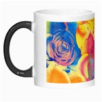 Pop Art Roses Morph Mugs Left