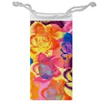 Pop Art Roses Jewelry Bags Front