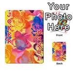 Pop Art Roses Playing Cards 54 Designs  Front - Joker2