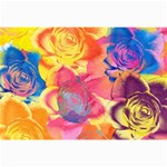 Pop Art Roses Collage Prints 18 x12 Print - 1
