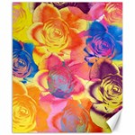 Pop Art Roses Canvas 8  x 10  10.02 x8 Canvas - 1