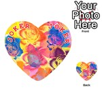 Pop Art Roses Playing Cards 54 (Heart)  Front - Joker2