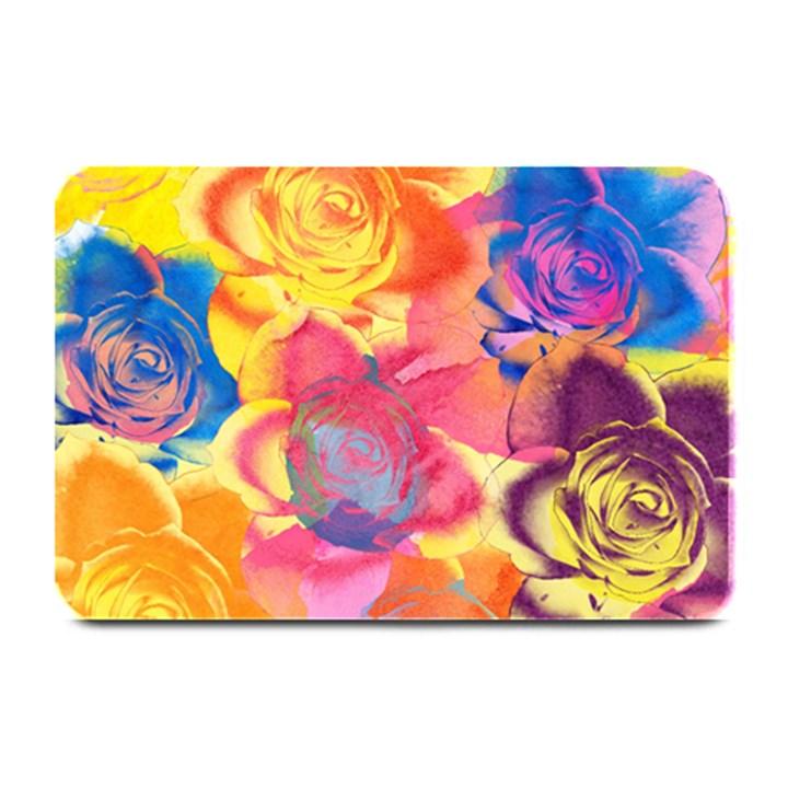 Pop Art Roses Plate Mats