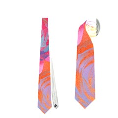 Pop Art Roses Neckties (one Side)