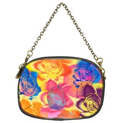 Pop Art Roses Chain Purses (one Side)