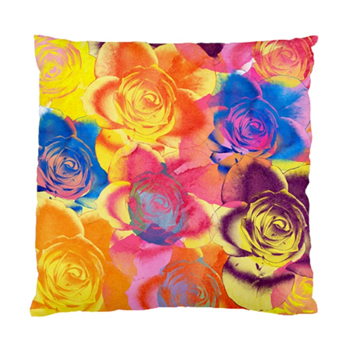 Pop Art Roses Standard Cushion Case (Two Sides)