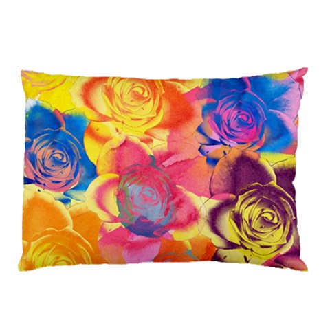 Pop Art Roses Pillow Case