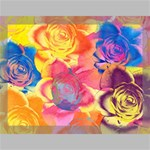 Pop Art Roses Canvas 16  x 12  16  x 12  x 0.875  Stretched Canvas