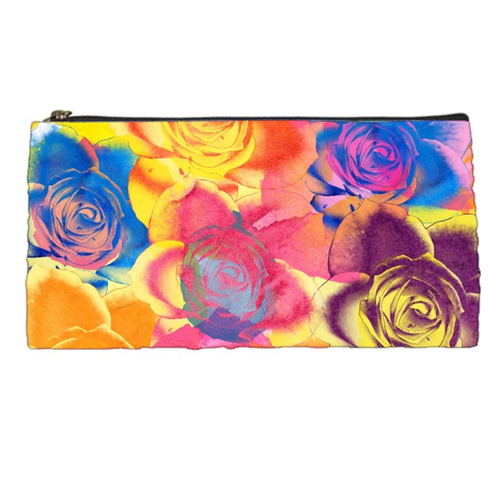 Pop Art Roses Pencil Cases