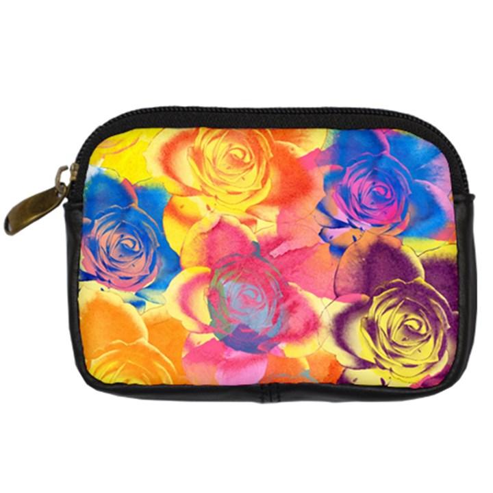 Pop Art Roses Digital Camera Cases