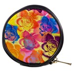 Pop Art Roses Mini Makeup Bags Front