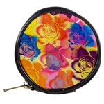 Pop Art Roses Mini Makeup Bags Back