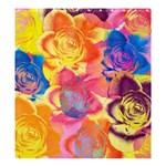 Pop Art Roses Shower Curtain 66  x 72  (Large)  58.75 x64.8 Curtain