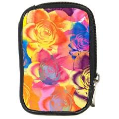 Pop Art Roses Compact Camera Cases