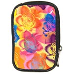Pop Art Roses Compact Camera Cases Front