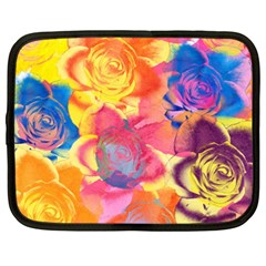 Pop Art Roses Netbook Case (XXL)
