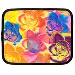 Pop Art Roses Netbook Case (XXL)  Front