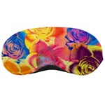 Pop Art Roses Sleeping Masks Front
