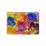 Pop Art Roses Cosmetic Bag (Medium)  Back
