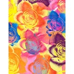 Pop Art Roses Large Memo Pads 4.125 x5.5  Memopad