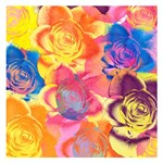 Pop Art Roses Small Memo Pads 3.75 x3.75  Memopad
