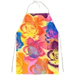 Pop Art Roses Full Print Aprons Front