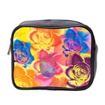 Pop Art Roses Mini Toiletries Bag 2-Side Front