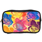 Pop Art Roses Toiletries Bags 2-Side Back