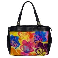 Pop Art Roses Office Handbags