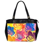 Pop Art Roses Office Handbags (2 Sides)  Front