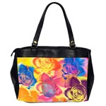 Pop Art Roses Office Handbags (2 Sides)  Back