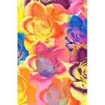 Pop Art Roses 5.5  x 8.5  Notebooks Back Cover Inside
