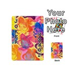 Pop Art Roses Playing Cards 54 (Mini)  Front - Joker1